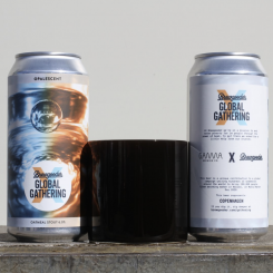 Opalescent, Oatmeal Stout, Gamma Brewing