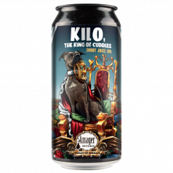 Kilo, King of Cuddles, 5,8% Dryhopped Juicy IPA, Amager Bryghus
