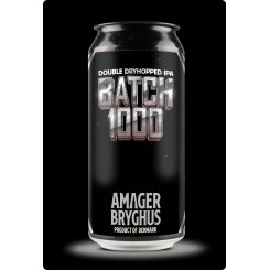 Batch 1000, Double Dryhopped IPA, Amager Bryghus