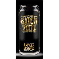 Batch 2000, Double Dryhopped IPA, Amager Bryghus