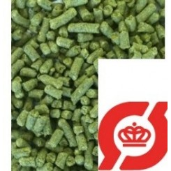 Økologisk Hallertauer Mittlefruh, 2020 pellets, alpha 4,8%, 100 g.