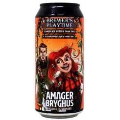 Brewers's Playtime: Someplace better than this, Kveik Mini IPA, Amager Bryghus