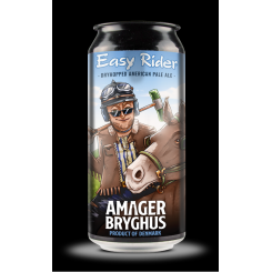 Easy Rider, Dryhopped American Pale Ale, Amager Bryghus, 44 cl