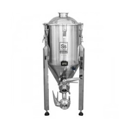 SS Brewtech Brewmaster Edition 26,5 liter 7 gal gæringstank med konisk bund