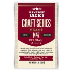 MJ Belgian Abbey Ale M47 250 g pakning