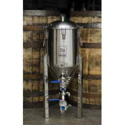 SS Brewtech 7 gallon (26,5 liter) gæringstank med konisk bund Chronical Fermenter