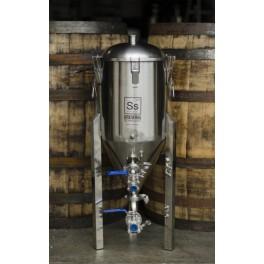 SS Brewtech 7 gallon (26,5 liter) gæringstank med konisk bund Chronical Fermenter