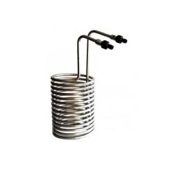 Kølespiral rustfri stål 20 ltr.