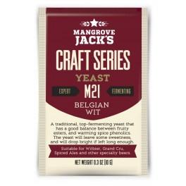 MJ Belgian Witt M21, tørgær 10 g