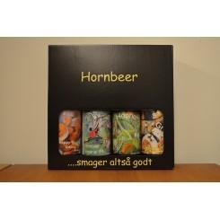Hornbeer gaveæske med 4 slags IPA