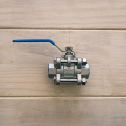 "Ball valve, kugle ventil 1/2"" SS Brewtech"