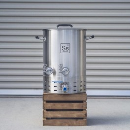 SS Brewtech Brewmaster Edition 38 ltr./10 gallon  rustfri stålgryde med taphane