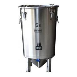 """SS Brewtech 26 ltr. """"Brewmaster Bucket"""" gæringstank"""