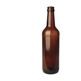 Ølflaske 0,5 l. brun universal pr. stk.