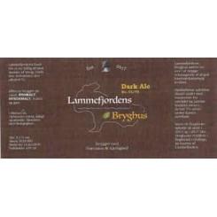 Dark Ale , Lammefjordens bryghus 33 cl