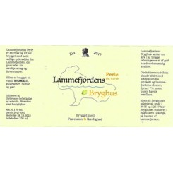 Lys Ale , Lammefjordens bryghus 33 cl , 6,1 %