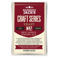 MJ New World Strong Ale M42 100 g. pakning