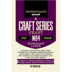 MJ BOHEMIAN LAGER M84, tørgær 100 g