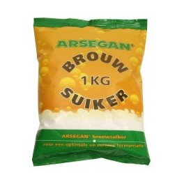 Arsegan Brew Sugar sukker 1000 g.