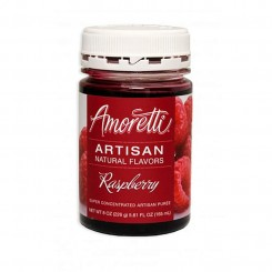 Amoretti - Artisan Natural Flavors - Raspberry 226 g Hindbær sirup