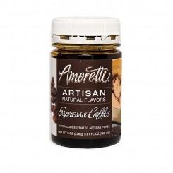 Amoretti - Artisan Natural Flavors - Espresso 226 g Espresso kaffe sirup