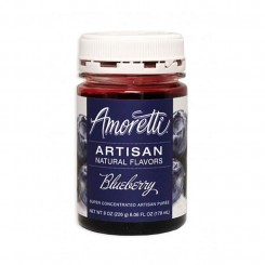 Amoretti - Artisan Natural Flavors - Blueberry 226 g Blåbær sirup