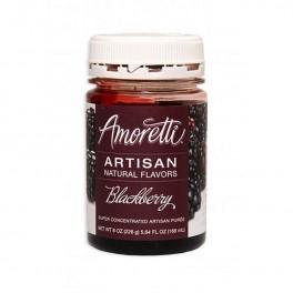 Amoretti - Artisan Natural Flavors - Blackberry 226 g Brombær sirup