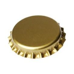 Kapsel guld 26 mm pris for 50 stk.