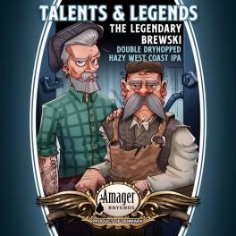 Talents & Legends - Brewski - 33 cl. Amager Bryghus