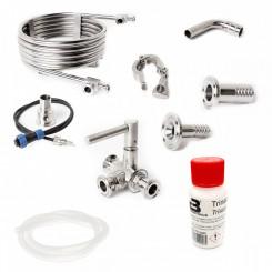 Brewtools anbefalet tilbehørspakke / startsæt 2 ventil setup