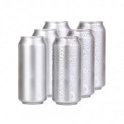Dåser øldåser 0,5 ltr. blanke 207 stk. passer til Cannular