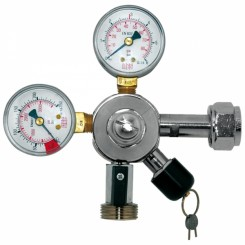 Co2 trykregulator Oxy Turbo 2 manometre og 1 udgange