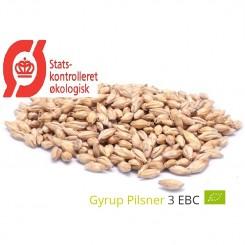 Gyrup Pilsner Malt økologisk, ebc 3-4, pris pr. 100 g.