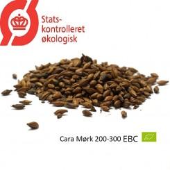 Gyrup Cara Mørk Malt økologisk, ebc 200-300, pris pr. 100 g.