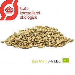 Gyrup Rug Malt økologisk, Gyrup Gårdmalt, ebc 4, pris pr. 100 g.