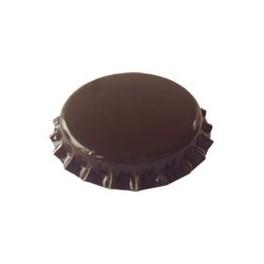 Kapsel brun 26 mm pris for 50 stk.