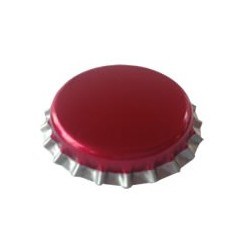 Kapsel fuchsia 26 mm pris for 50 stk.