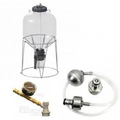 Fermzilla 55 ltr. starter kit inkl. trykmåler og trykkit