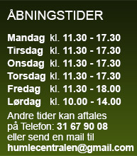 Åbningstider